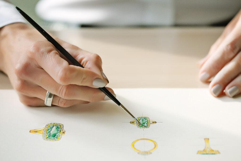 juwelen schetsen